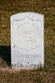 Winter, Civil War Soldier
